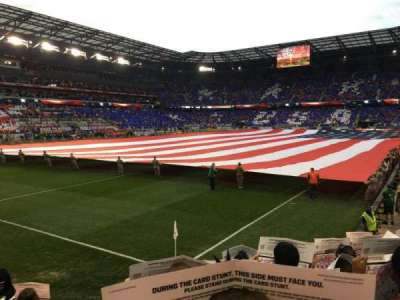 Red Bull Arena, section: 130, row: 6, seat: 15