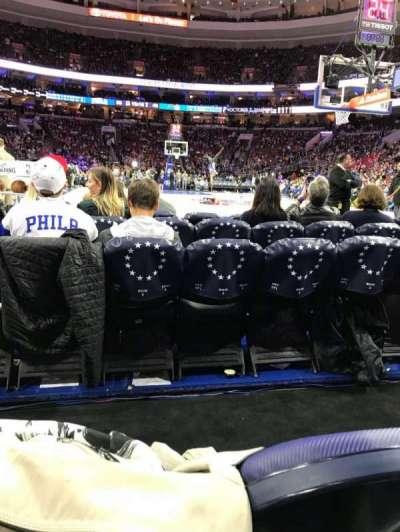 Wells Fargo Arena, section: 106, row: B, seat: 8-5