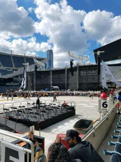 Soldier Field, section: 110, row: 2, seat: 19