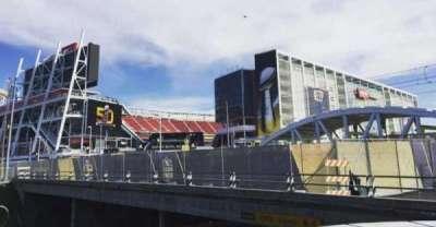 Levi's Stadium, section: Outside