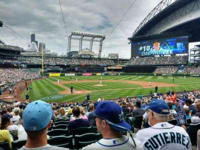 Safeco Field, section: 127, row: 29, seat: 3