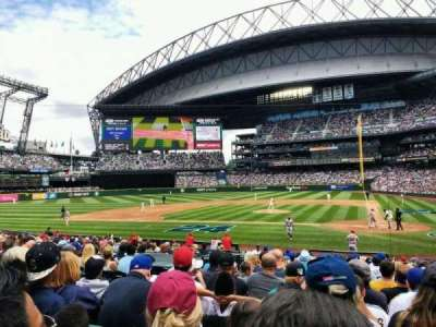 Safeco Field, section: 135, row: 21, seat: 5