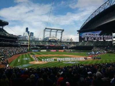 Safeco Field, section: 126, row: 33, seat: 10