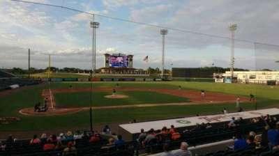 Joker Marchant Stadium, section: 204, row: h, seat: 17