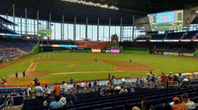 Marlins Park, section: 10, row: 15, seat: 20