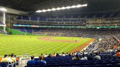 Marlins Park, section: 27, row: 19, seat: 20