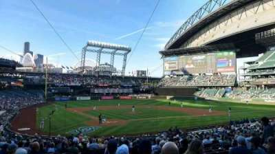 Safeco Field, section: 127, row: 31, seat: 13