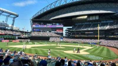 Safeco Field, section: 133, row: 19, seat: 7