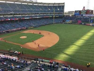 Angel Stadium, section: V428, row: B, seat: 1