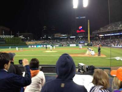 Comerica Park, section: 130, row: 7, seat: 14
