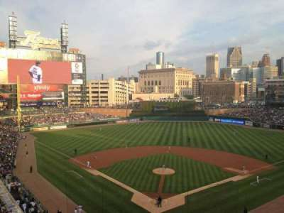 Comerica Park, section: 327, row: 1, seat: 10