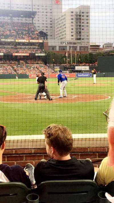 Oriole Park at Camden Yards, section: 34, row: 4, seat: 8
