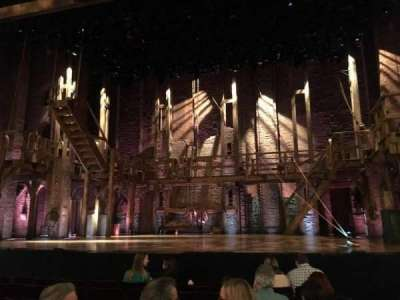 Richard Rodgers Theatre, section: Orchestra, row: G, seat: 101