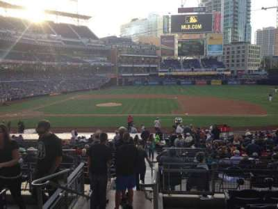 PETCO Park, section: 109, row: 31, seat: 1
