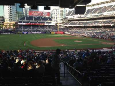 PETCO Park, section: 114, row: 43, seat: 1