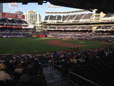 PETCO Park, section: 120, row: 41, seat: 1