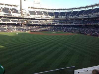PETCO Park, section: 230, row: 3, seat: 1