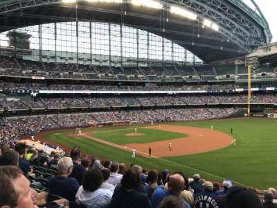 Miller Park, section: 209, row: 10, seat: 17