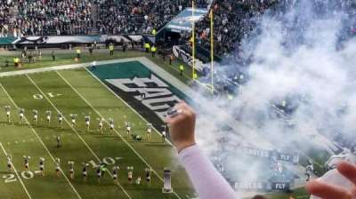 Lincoln Financial Field, section: 202, row: 8, seat: 21