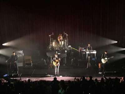 Chicago Theatre, section: Loge 4, row: AA, seat: 408