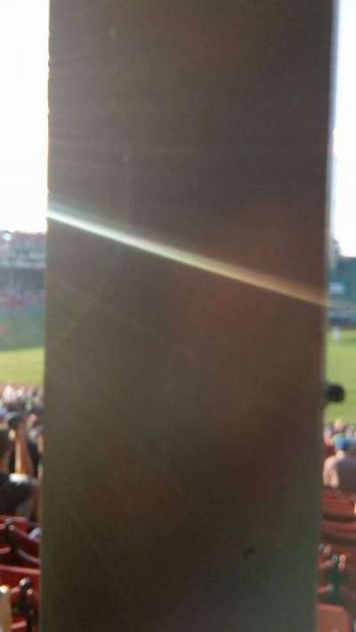 Fenway Park, section: Grandstand 8, row: 01, seat: 12