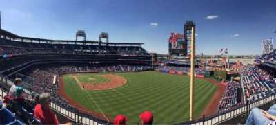 Citizens Bank Park, section: 307, row: 3, seat: 17