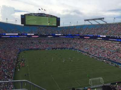 Bank of America Stadium, section: 531, row: 3, seat: 13