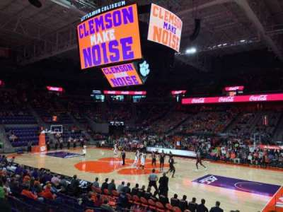 Littlejohn Coliseum, section: 116, row: M, seat: 7