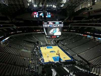 American Airlines Center, section: 319, row: A, seat: 14