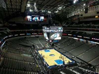 American Airlines Center, section: 320, row: D, seat: 17
