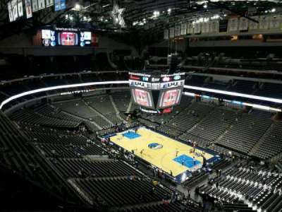 American Airlines Center, section: 322, row: L, seat: 8