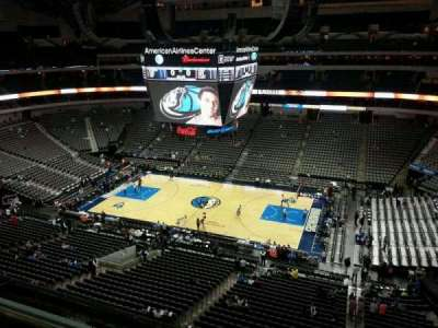 American Airlines Center, section: 324, row: C, seat: 1