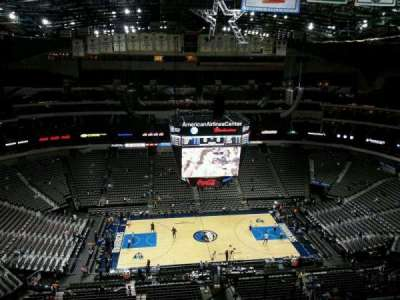 American Airlines Center, section: 327, row: O, seat: 5