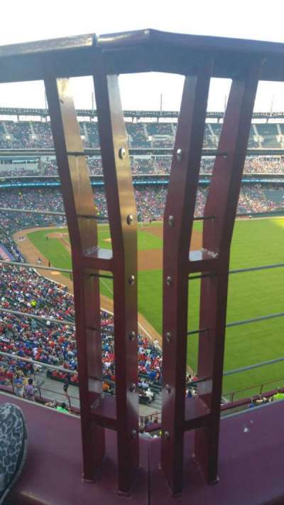 Globe Life Park in Arlington, section: 343, row: 1, seat: 5