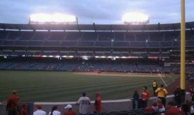 Angel Stadium, section: F102, row: k, seat: 1