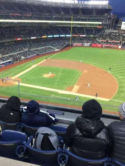 Yankee Stadium, section: 314, row: 4, seat: 22