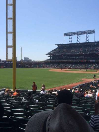 AT&T Park section 135