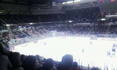 Sheffield Arena, section: 217, row: E, seat: 20