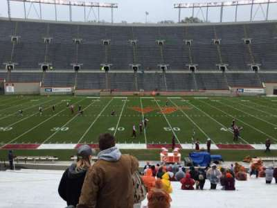 Lane Stadium, section: 10, row: EE, seat: 2
