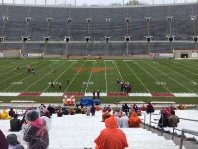 Lane Stadium, section: 12, row: MM, seat: 3