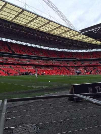 Wembley Stadium, section: 128, row: 1, seat: 146