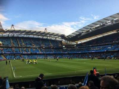 Etihad Stadium (Manchester), section: 140, row: L, seat: 1103