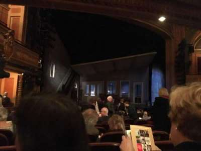 American Airlines Theatre, section: Orchestra, row: M, seat: 9