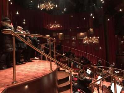 Imperial Theatre, section: Onstage, row: BD, seat: 21