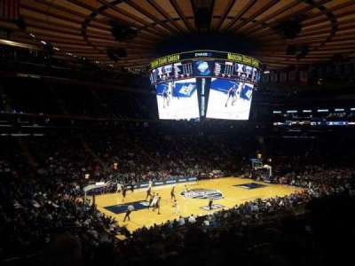 Madison Square Garden, section: 115, row: 20, seat: 1