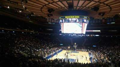 Madison Square Garden, section: 103, row: 20, seat: 22