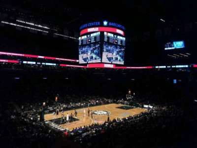 Barclays Center, section: 112, row: 7, seat: 18
