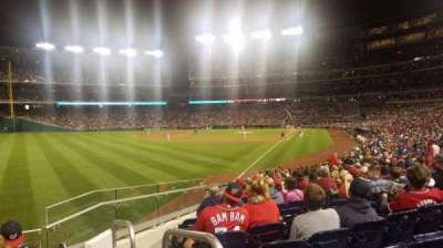 Nationals Park, section: 107, row: Cc, seat: 1