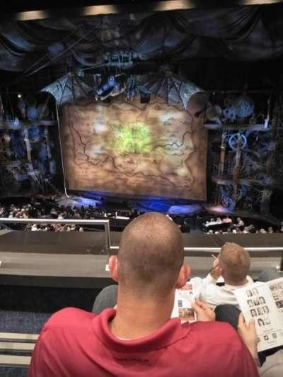 Gershwin Theatre, section: Front Mezzanine (FMEZZ), row: C, seat: 2