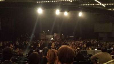 The Theatre at Madison Square Garden, section: 201, row: M, seat: 7